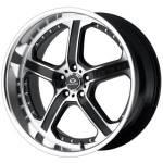 Lorenzo WL21 Machine Black Wheels