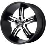Lorenzo WL26 Black Machined Wheels