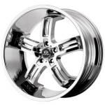 Lorenzo WL26 Chrome Wheels
