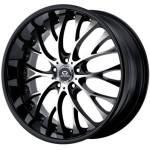 Lorenzo WL27 Black Machined Wheels