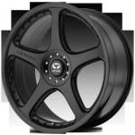 Lorenzo WL28 Satin Black Wheels