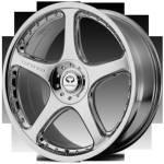 Lorenzo WL28 Chrome Wheels