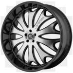 Lorenzo WL29 Black Machined Wheels