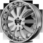 Lorenzo WL29 Chrome Wheels