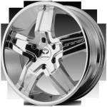Lorenzo WL30 Chrome Wheels