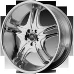 Lorenzo WL31Chrome Wheels