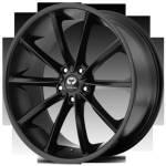 Lorenzo WL32 Satin Black Wheels