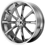 Lorenzo WL32 Chrome Wheels