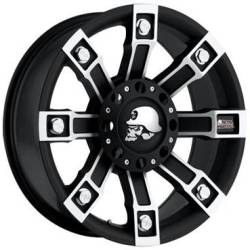 Metal Mulisha Series 7113 Flat Black Machined
