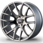 Miro Type 111 Silver Machined Wheels