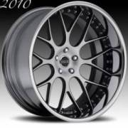 Moz DCM8 Concave Forging Black Machined