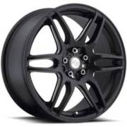 Niche M106 NR6 Stone Black Milled Spoke