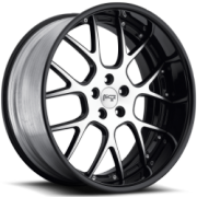 Niche Pulse M210 Black Machined Black Rim