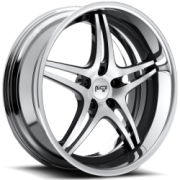 Niche Sportiva M205 Black Machined Chrome Rim