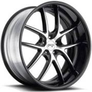 Niche Targa M215 Black Machined Black Rim