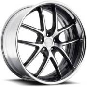 Niche Targo M215 Black Machined Chrome Rim