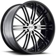 Niche Touring II M200<br>Black Machined Black Rim