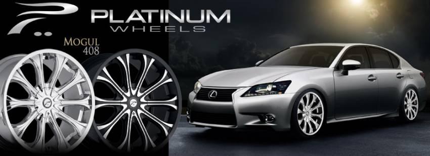 Platinum Mogul 408 Wheels