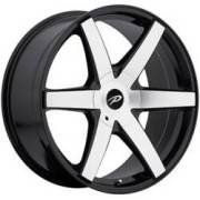 Pacer 785 Ovation Machined Black Wheels