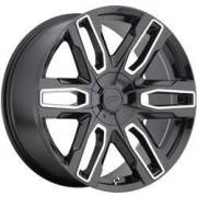 Pacer 787MB Benchmark Black Machined Wheels