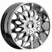 Panther 769 Bodacious Chrome Wheels