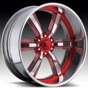 Raceline Blast Six Custom Red