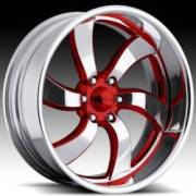 Raceline Deceptive Six Custom Red