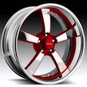 Raceline Speedster Five Custom Red