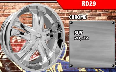 RADD ALLOYS RD29 CHROME