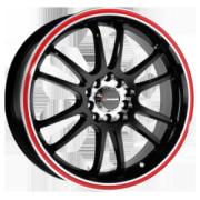 Raze R84 Black Red Stripe