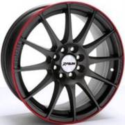 Redline RD-125 Matte Gunmetal with Red Stripe