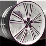 Rucci Raggio White Purple