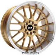 STR 514 Gold Machined Lip