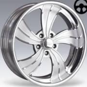 Showwheel Twisted Vista II 5 Polished