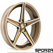 Sporza Topaz Concave Gunmetal Bronze Machined