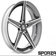 Sporza Topaz Concave Gun Metal Machined