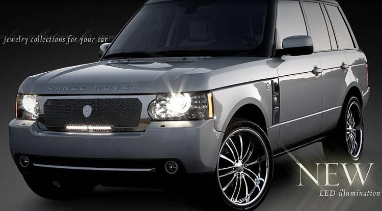 New Strutwear L.E.D. Grilles for Range Rover