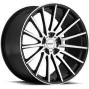 TSW Chicane Gloss Black Machined Wheels
