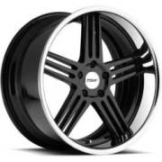 TSW Nouvelle Gloss Black Chrome Wheels