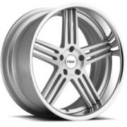 TSW Nouvelle Silver Brushed Chrome Wheels