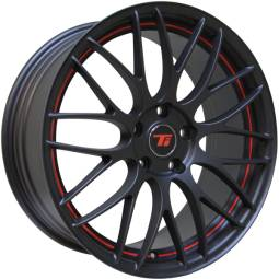 Ti-RM Matte Black w/Red Stripe