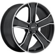 Ultra Wheels 423B Knight Gloss Black Diamond Cut