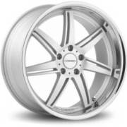Vossen VVS084 Matte Silver Machined Stainless Lip