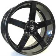 White Diamond 5178 Black Wheels