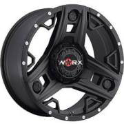 Worx 801 Triad Satin Black Covered Cap