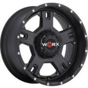 Worx 802 Havoc Satin Black Covered Cap