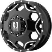 XD Series XD814 Dually Gloss Black Milled