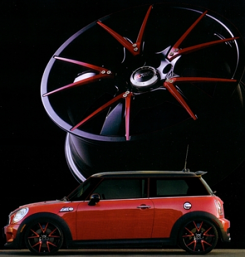 XXR 508 Custom Wheels for Your Mini Cooper
