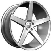 Zenetti Barron Brushed Silver Wheels