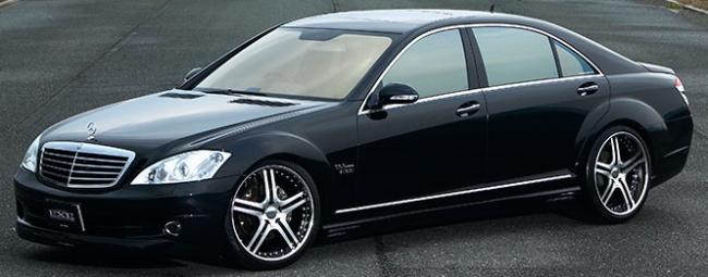 ALTSTADT S250 on Mercedes S-Class